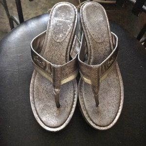 Coach wedges sandals